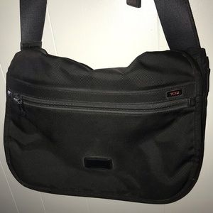 Large Tumi messenger bag